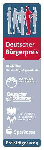 Banner Deutscher Bürgerpreis 2013