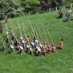 Florian Eckart gehört bei der Schlacht um Landau zu den angreifenden schwedischen Pikenieren.