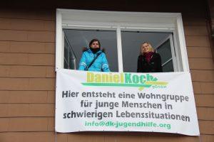 Die Daniel-Koch-GgmbH kaufte das ehemalige Forsthaus in Landau und gründete eine Wohngruppe für junge Menschen in schwierigen Lebenssituationen