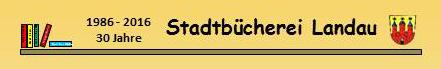 Logo Stadtbücherei Landau